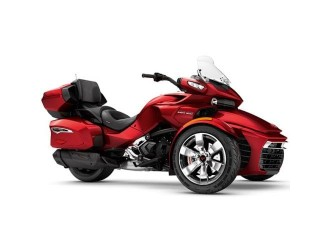 Can-Am Spyder F3 Limited SE6 Intense Red Pearl '18